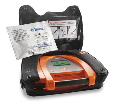Reanibex 200 Desfibrilador Externo Automatizado SireMed Costa Rica